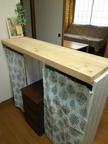 2017augキッチン棚